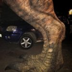 t-rex leg from jurassic park prps form jurassic park unique prop hire unique large props large dinosaur prop hire